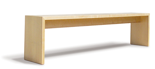 Blok Furniture Entra. Entra. Console In Rock Maple ...